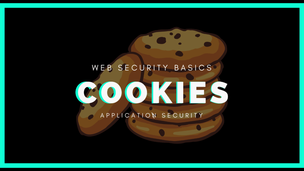 Basics of cookies for web security